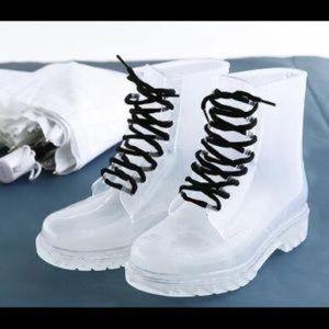 Clear Rain Boots!